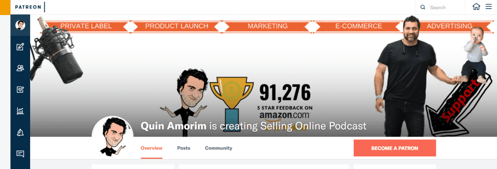 , Patreon, QA Selling Online at Amazon FBA, QA Selling Online at Amazon FBA