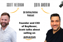 Scott Needham CEO of BuyBoxer, selling 60 Million on Amazon